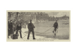 The Frost, Life Saving Apparatus for Rescuing Skaters Giclee Print