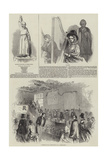 The Twelth Eisteddfod of the Abergavenny Cymreigyddion Giclee Print