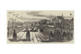 Inauguration of the Paris and Nantes Railway, at Nantes Giclee Print