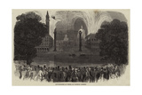 Picture-Model of Venice, at Vauxhall Gardens Giclee Print