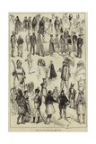 Notes at the Fancy-Dress Ball, Dublin Castle Giclee Print
