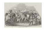 Horse-Racing in the Reign of Charles II Giclee Print