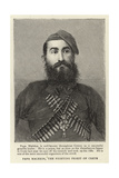 Papa Malekos, the Fighting Priest of Crete Giclee Print
