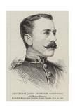 Lieutenant James Frederick Greenwood Giclee Print