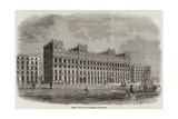 Messers Watts's New Warehouse, Manchester Giclee Print
