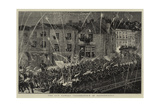 The Guy Fawkes Celebration at Bridgewater Giclee Print
