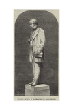 Statue of Sir W Fairbairn at Manchester Giclee Print