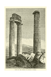 Ruins of the Temple of Jupiter at Nemea Giclee Print
