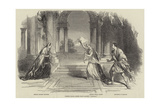 French Plays, Scene from Racine's Phedre Giclee Print