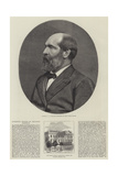 Attempted Murder of President Garfield Giclee Print