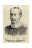 Lieutenant-Colonel Bruce Hamilton Giclee Print