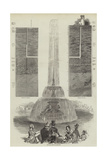 The Fountains in Trafalgar-Square Giclee Print