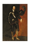 Portrait of Sir Charles Harbord Giclee Print