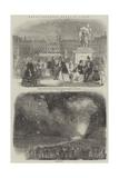 Royal Birthday Fetes at Paris Giclee Print
