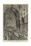 Restoration of Southwell Cathedral Giclee Print