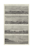 The British Fleet in the Dardanelles Giclee Print