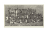 Captured East African Slaves at Aden Giclee Print