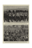 The Riot in Trafalgar Square Giclee Print