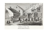 Firemen at Work, 1733, Pub. C.1887 Giclee Print