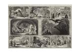 Christmas Pantomimes and Burlesques Giclee Print