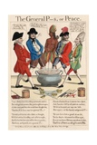 The General P--S, or Peace, 1783 Giclee Print