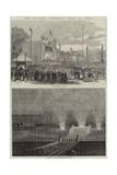 The Napoleon Centenary Fetes at Paris Giclee Print