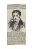 Portrait of Washington Irving Giclee Print