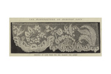 The Manufacture of Honiton Lace Giclee Print