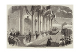 Opening of the Madras Railway Giclee Print