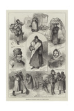 Sketches of the Russian People Giclee Print