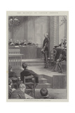 The Re-Trial of Captain Dreyfus Giclee Print
