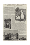 Constantinople Illustrated Giclee Print