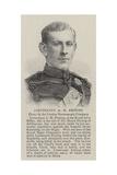 Lieutenant a H Festing Giclee Print