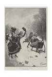 Seventeenth Century Skaters Giclee Print