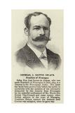 General J Santos Zelaya Giclee Print