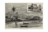 View of Tamatave, Madagascar Giclee Print