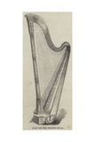 Harp for the Princess Royal Giclee Print