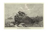 Leopards on the Tanganyika Giclee Print