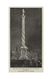 Trafalgar Day in London Giclee Print