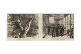 Scenes in Philadelphia Giclee Print