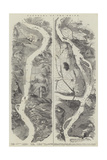 Panorama of the Rhine Giclee Print