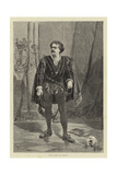 Signor Rossi as Hamlet Giclee Print