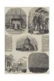 Royal Visit to Cambridge Giclee Print