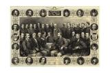 Celebrities of the Turf Giclee Print