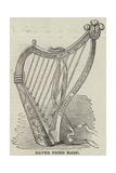Silver Prize Harp Giclee Print