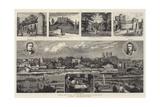 York Illustrated Giclee Print