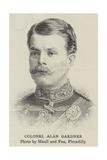 Colonel Alan Gardner Giclee Print