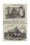 Ascot Races, 1846 Giclee Print