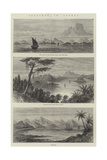 Sketches in Borneo Giclee Print