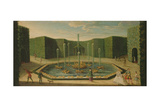 The Basin of Ceres at Versailles, Early Eighteenth Century Giclee Print